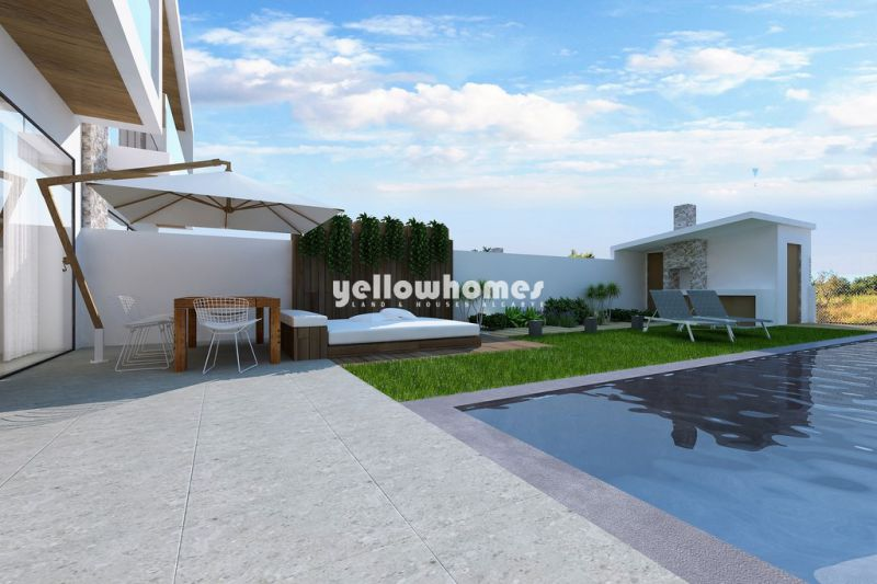 High quality, newly built 3-bed villas with private pool in Boliqueime
